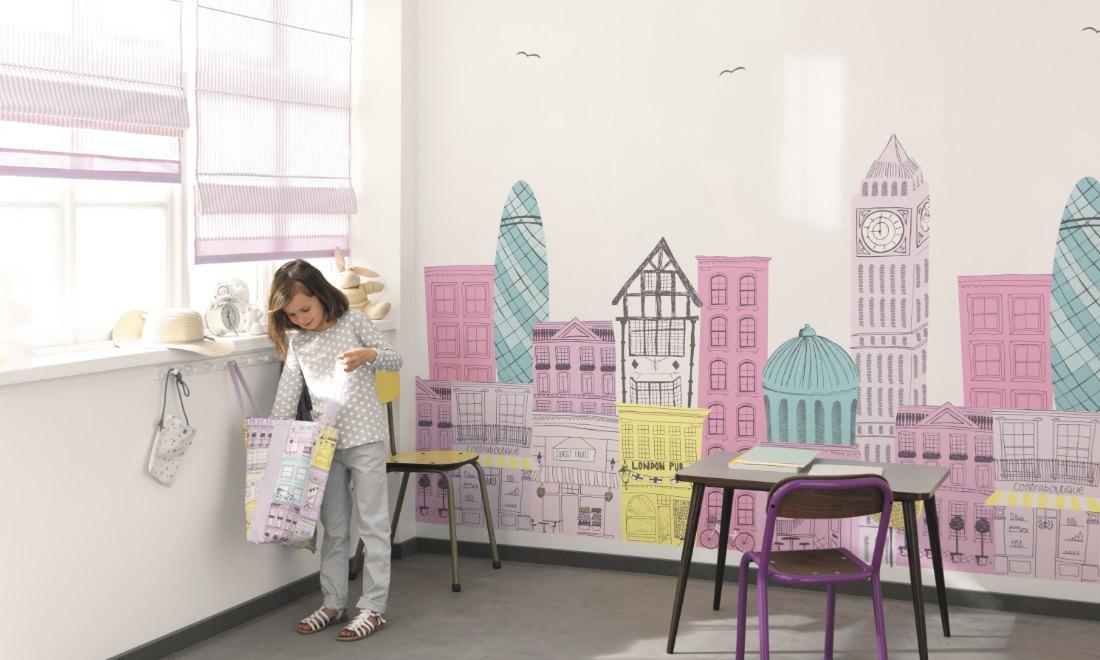 Papel pintado infantil