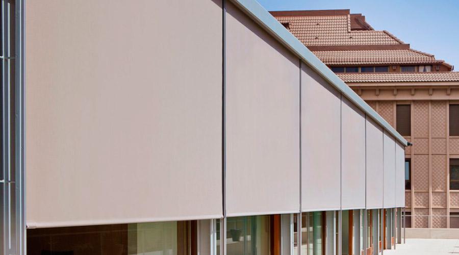 Cortinas enrollables Manresa protección solar